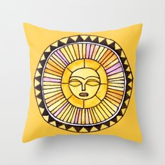 The Sun was incapable of making plans Throw Pillow