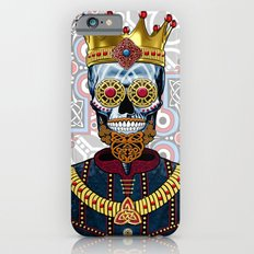 O'Skully King Of The Celts - Celtic Sugar Skull King Slim Case iPhone 6s