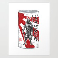 Shogun Beer Art Print