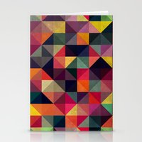 Colors Pattern Stationery Cards