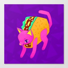 Taco Cat Canvas Print