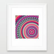 Mandala 143 Framed Art Print
