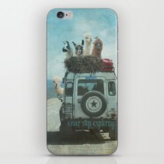 NEVER STOP EXPLORING II … iPhone & iPod Skin