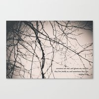 Monsters + Ghosts Canvas Print