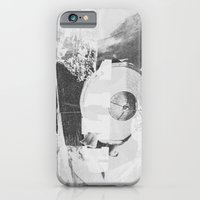 iPhone & iPod Case featuring When B, grey by Paul Prinzip