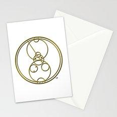 Gallifreyan Thank You Stationery Cards