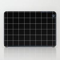 Black Grid /// Www.penci… iPad Case