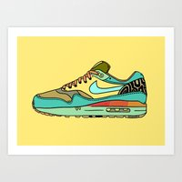 Nike 001 Art Print