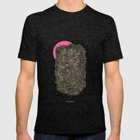 - Obscure The Pink Shade… Mens Fitted Tee Tri-Black SMALL