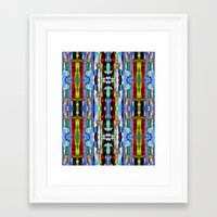 Framed Art Prints featuring India Goa Painting Metallic  by Costa