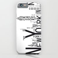 iPhone & iPod Case featuring NEW YORK by R.Bongiovani