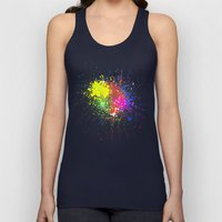 Stains Unisex Tank Top