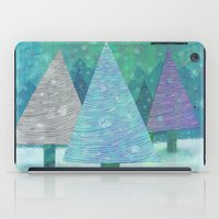 Snow and Trees iPad Case