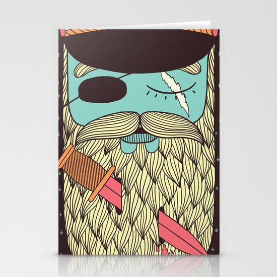 Captain Hope Stationery Card