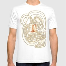 Hands... Mens Fitted Tee SMALL White