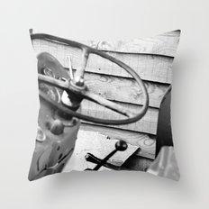 Take The Wheel Throw Pillow