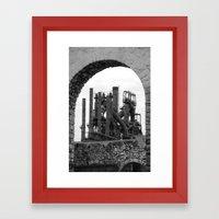 Bethlehem Steel Blast Furnace 7 Framed Art Print