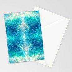 Hawaiian Oceanic Flower Of Life Stationery Cards