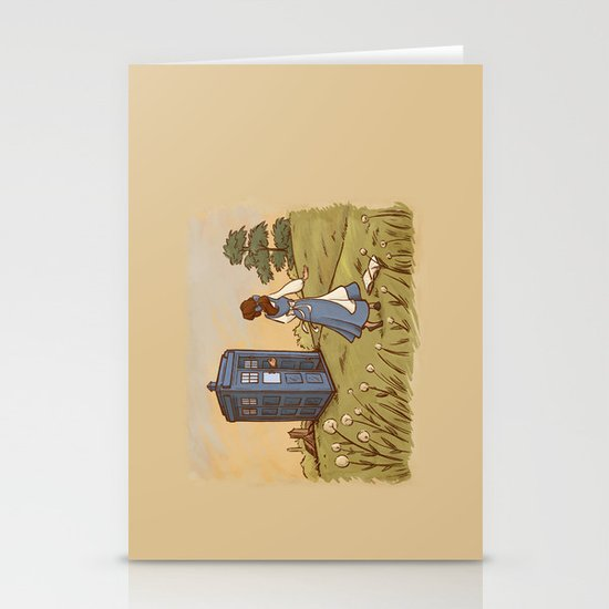 Adventure in the Great Wide Somewhere Stationery Card