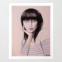 Karen O - Yeah Yeah Yeah… Art Print