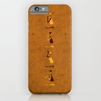iPhone & iPod Case featuring Forms of Prayer - Yellow by Damien Koh