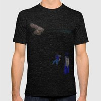 The Bird of Truth Mens Fitted Tee Tri-Black SMALL