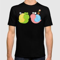 Snails Mens Fitted Tee Black SMALL