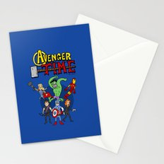 Avenger Time Stationery Cards