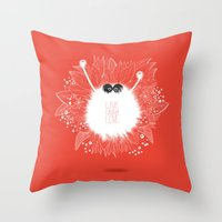 Live, Laugh, and Love..  Throw Pillow