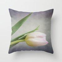 Sweet Blush Throw Pillow