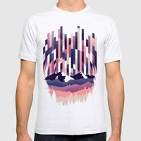 Sunrise In Vertical - Wi… Mens Fitted Tee Ash Grey SMALL