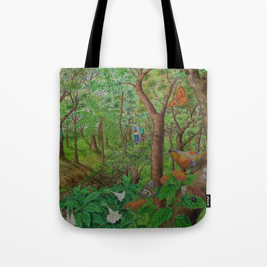 A Day of Forest (1). (walk into the forest) Tote Bag