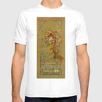 Ionic Asterion Mens Fitted Tee White SMALL