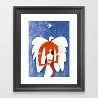 In My Arms Framed Art Print
