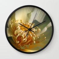 Morning Lotus 2 Wall Clock