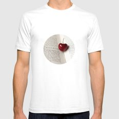 Feelings Mens Fitted Tee White SMALL
