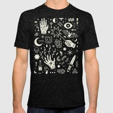 Witchcraft Mens Fitted Tee Tri-Black SMALL