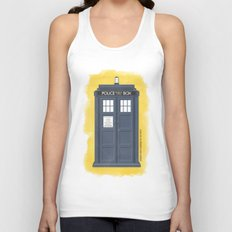 9th Doctor - DOCTOR WHO Unisex Tank Top