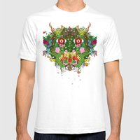 Cabana Fever Mens Fitted Tee White SMALL