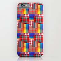 CHECK PATTERN iPhone 6 Slim Case