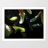 Gummies Art Print