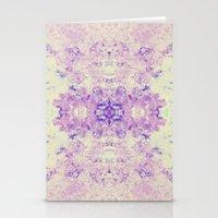 Fuzzy kaleidoscope Stationery Cards