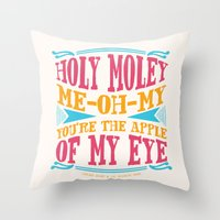 Home - You're The Apple … Throw Pillow