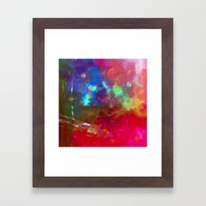The Red Garden Framed Art Print