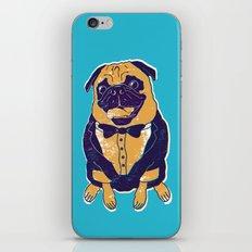 Henry the Pug iPhone & iPod Skin