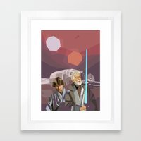 Farthest From Framed Art Print