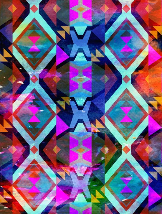Diamond Fiesta  Art Print