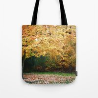 Beautiful Fall Trees Tote Bag