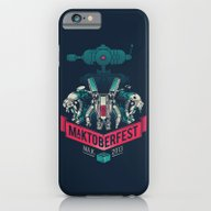iPhone & iPod Case featuring MaKtoberfest 13 by Victor Vercesi