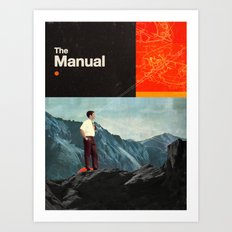 The Manual Art Print